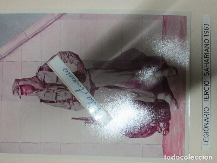 Militaria: ANTIGUO ALBUM FOTOS ORIGINALES DE CUADROS INEDITO EVOLUCION INFANTERIA ESPAÑOLA LEGION MELILLA - Foto 41 - 119495579