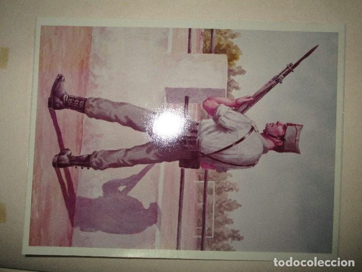 Militaria: ANTIGUO ALBUM FOTOS ORIGINALES DE CUADROS INEDITO EVOLUCION INFANTERIA ESPAÑOLA LEGION MELILLA - Foto 48 - 119495579