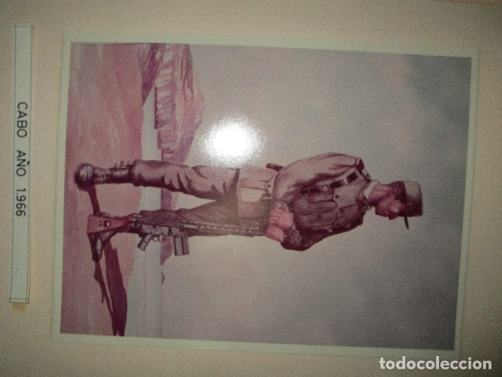 Militaria: ANTIGUO ALBUM FOTOS ORIGINALES DE CUADROS INEDITO EVOLUCION INFANTERIA ESPAÑOLA LEGION MELILLA - Foto 47 - 119495579