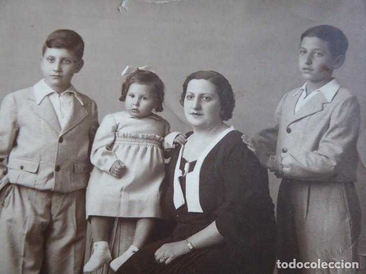 Militaria: Fotografía soldado del Ejército Popular de la República. Valencia 1937 - Foto 3 - 151819742