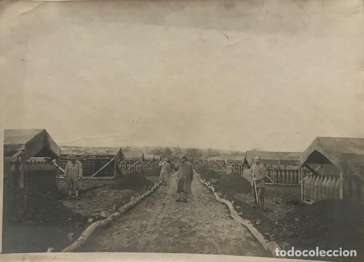 ONE. PARC A MUNITIONS. PRIMERA GUERRA MUNDIAL 17,7X12,9 CM (Militar - Fotografía Militar - I Guerra Mundial)