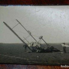 Militaria: ANTIGUA FOTOGRAFIA DE AVION BREGUET CAPOTADO, AÑOS 20, MIDE 14,5 X 10 CMS. APROXIMADAMENTE.. Lote 151943998