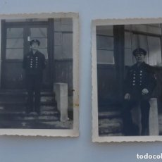 Militaria: 2 FOTOGRAFIAS ALEMANAS 2ªGM .GEFREITER DE LA KRIEGSMARINE . ORIGINAL 100 %. Lote 152190666