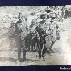 Militaria: ANTIGUA FOTOGRAFÍA FRANCISCO FRANCO DE JOVEN GUERRA CIVIL ÁFRICA ESPAÑA PPIO S XX. Lote 152240238
