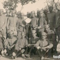 Militaria: FOTOGRAFIA MILITAR GRUPO DE CADETES DE CABALLERIA TAL COMO SE OBSERVA. Lote 152511006