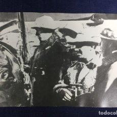Militaria: ANTIGUA COPIA FOTOGRÁFICA FRANCISCO FRANCO GENERAL SANJURJO GUERRA CIVIL PPIO S XX. Lote 152871314