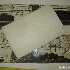 Militaria: FOTO GUERRA CIVIL BOMBARDEO DE AVIACION MADRID CIUDAD UNIVERSITARIA FILOSOFIA Y LETRAS COMPLUTENSE. Lote 128464959