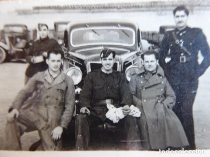 FOTOGRAFÍA CONDUCTORES DEL EJÉRCITO ESPAÑOL. (Militar - Fotografía Militar - Otros)