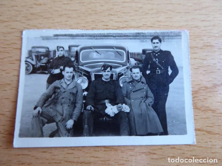 Militaria: Fotografía conductores del ejército español. - Foto 2 - 153123586