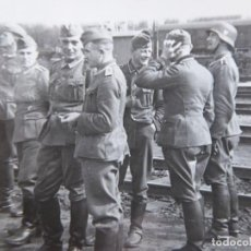 Militaria: FOTOGRAFÍA SOLDADOS DEL EJÉRCITO ALEMÁN.. Lote 153500990