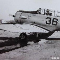 Militaria: FOTOGRAFÍA AVIONES NORTH AMERICAN T-6 TEXAN AVIACIÓN. CUATRO VIENTOS. Lote 153593950