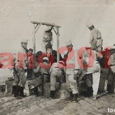 Militaria: GUERRA DEL RIF 1909 MELILLA - FOTOGRAFIA ANTIGUA. Lote 153806678