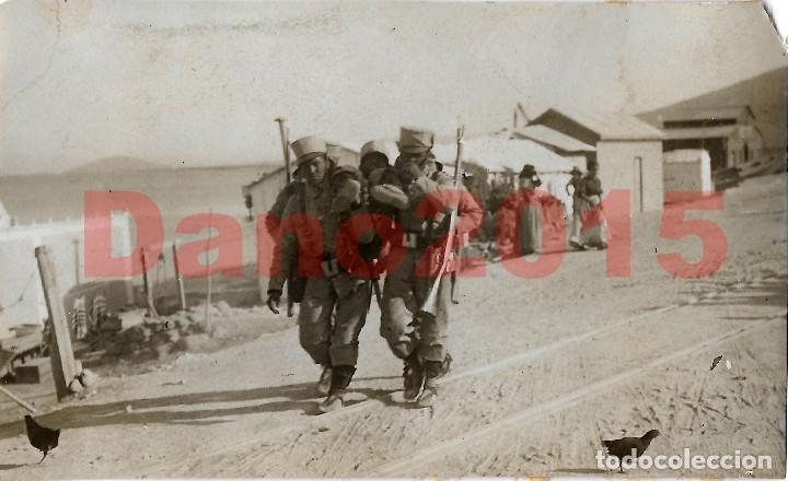 GUERRA DEL RIF 1909 MELILLA - FOTOGRAFIA ANTIGUA (Militar - Fotografía Militar - Otros)