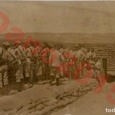 Militaria: GUERRA DEL RIF 1909 MELILLA - FOTOGRAFIA ANTIGUA. Lote 153821550