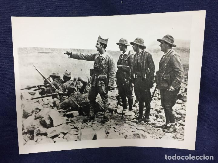 Militaria: FOTOGRAFÍA FRANCISCO FRANCO COMANDANTE TROPAS ASALTO RAS MEDUA ÁFRICA año 1921 - Foto 4 - 154130370