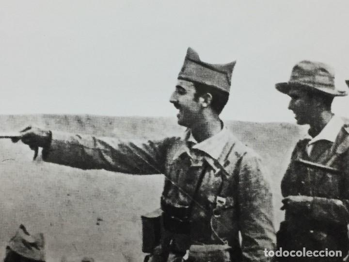 FOTOGRAFÍA FRANCISCO FRANCO COMANDANTE TROPAS ASALTO RAS MEDUA ÁFRICA AÑO 1921 (Militar - Fotografía Militar - Guerra Civil Española)