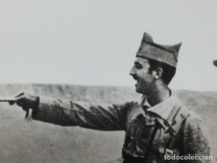 Militaria: FOTOGRAFÍA FRANCISCO FRANCO COMANDANTE TROPAS ASALTO RAS MEDUA ÁFRICA año 1921 - Foto 2 - 154130370