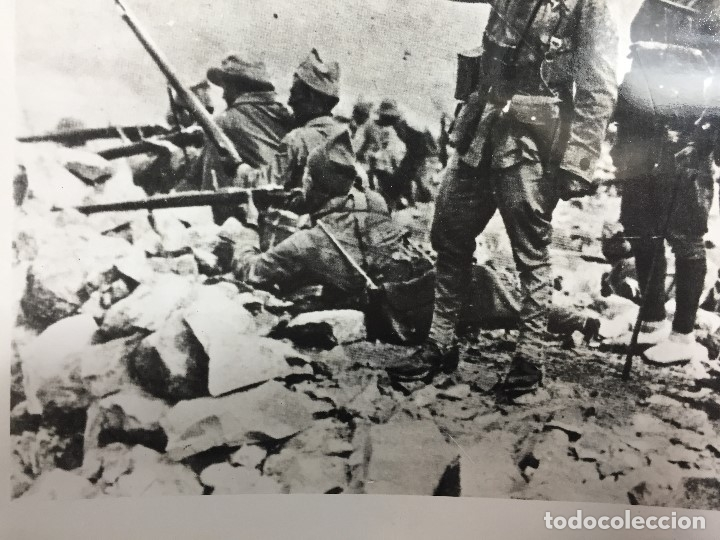 Militaria: FOTOGRAFÍA FRANCISCO FRANCO COMANDANTE TROPAS ASALTO RAS MEDUA ÁFRICA año 1921 - Foto 5 - 154130370