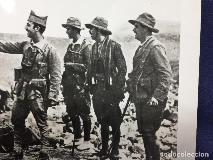 Militaria: FOTOGRAFÍA FRANCISCO FRANCO COMANDANTE TROPAS ASALTO RAS MEDUA ÁFRICA año 1921 - Foto 6 - 154130370