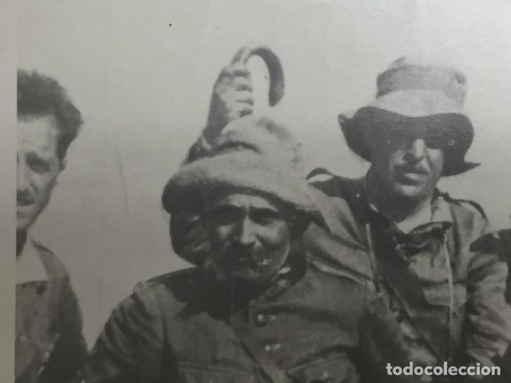 Militaria: antigua fotografía militar francisco franco militares áfrica guerra civil españa ppio s xx - Foto 3 - 154132866