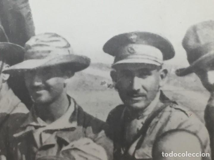 Militaria: antigua fotografía militar francisco franco militares áfrica guerra civil españa ppio s xx - Foto 6 - 154132866