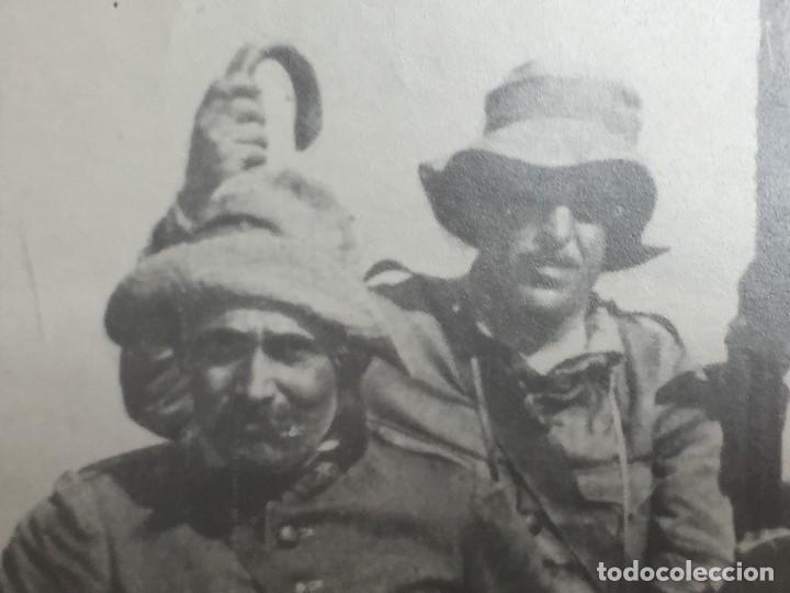 Militaria: antigua fotografía militar francisco franco militares áfrica guerra civil españa ppio s xx - Foto 8 - 154132866