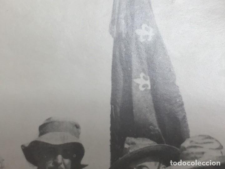 Militaria: antigua fotografía militar francisco franco militares áfrica guerra civil españa ppio s xx - Foto 2 - 154132866