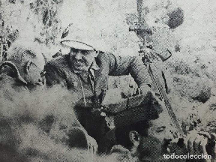 ANTIGUA FOTOGRAFÍA MILITAR FRANCISCO FRANCO GUERRA CIVIL FRENTE MILITARES ESPAÑA S XX (Militar - Fotografía Militar - Guerra Civil Española)