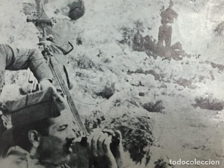 Militaria: ANTIGUA FOTOGRAFÍA MILITAR FRANCISCO FRANCO GUERRA CIVIL FRENTE MILITARES ESPAÑA S XX - Foto 2 - 154133554