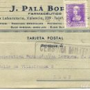 Militaria: TARJETA POSTAL-FARMACÉUTICO J. PALÁ-BARCELONA- CENSURA MILITAR 4 ABRIL 1939. Lote 154174698