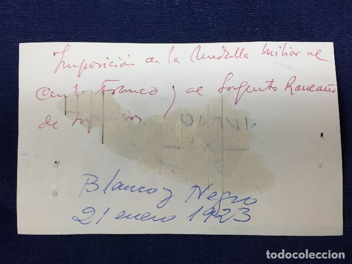 Militaria: antigua fotografía imposición de la medalla militar al comandante franco legión dar drius 1923 - Foto 2 - 154221254