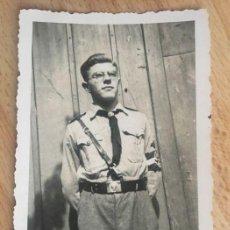 Militaria: ÁLBUM FOTOGRÁFICO CAMPAMENTO JUVENTUDES HITLERIANAS HITLERJUGEND NAZISMO FOTOGRAFÍAS ORIGINALES. Lote 154258230