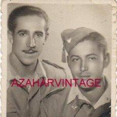 Militaria: ANTIGUA FOTOGRAFIA, SOLDADOS DE AVIACION, 58X86MM. Lote 154374786