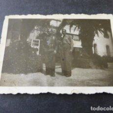 Militaria: BARCELONA 1938 GUERRA CIVIL SOLDADOS REPUBLICANOS DE GUARDIA EN EL TIBIDABO FOTOGRAFIA. Lote 154413546
