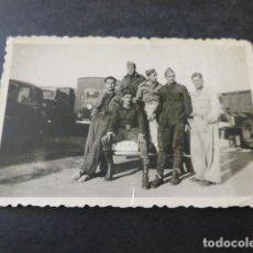 Militaria - BARCELONA GUERRA CIVIL SOLDADOS REPUBLICANOS ARIJO, CALLE, BONACHE Y MAROTO FOTOGRAFIA - 154413698