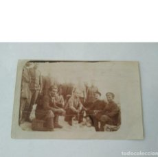 Militaria: ANTIGUA FOTO MILITAR DE I GUERRA MUNDIAL DE SOLDADOS RUSOS 23 II 1918 ORIGINAL. Lote 154481402