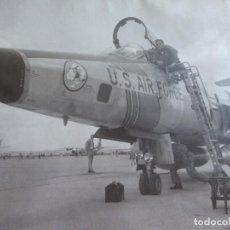 Militaria: FOTOGRAFÍA PILOTO AVIACIÓN. EJÉRCITO DEL AIRE. Lote 154528274