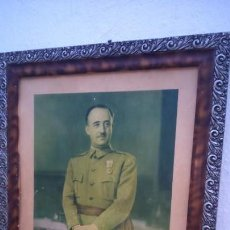 Militaria: GRAN RETRATO FRANCISCO FRANCO. ORIGINAL. JALÓN ANGEL. FOTO FRANCO GUERRA . Lote 154553194