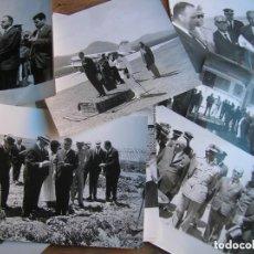 Militaria: RARAS FOTOGRAFIAS INEDITAS DE FRAGA Y MILITARES VISITANDO SAHARA, IFNI, AIIUN, VILLA CISNEROS.. Lote 154719546