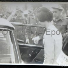 Militaria: (JX-190339)FOTOGRAFÍA DÑA .CARMEN POLO ESPOSA DEL GENERALÍSIMO FRANCISCO FRANCO SOLDADOS CARLISTAS. Lote 154941090