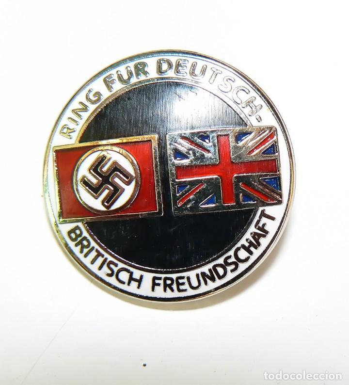 Militaria: Insignia de la alianza germano-británica. 3 Reich . nazi - Foto 5 - 154993450