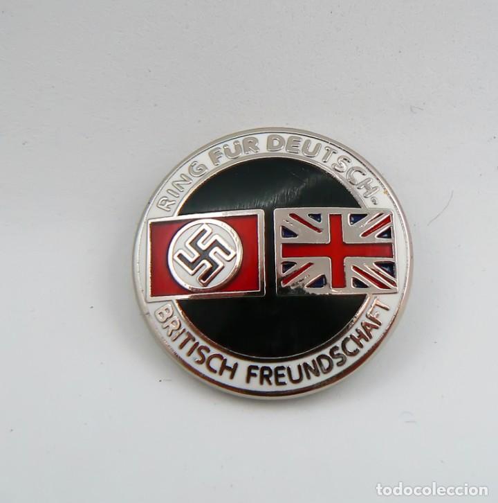 Militaria: Insignia de la alianza germano-británica. 3 Reich . nazi - Foto 7 - 154993450
