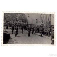 Militaria: FOTOGRAFÍA GUARDIA CIVIL. ZARAGOZA.- DESFILE FIESTAS VIRGEN DEL PILAR.- 14 X 9 CM. Lote 155014918