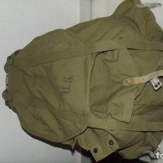 Militaria: MOCHILA PARA TROPAS ESPECIALES Y DE MONTAÑA CON ARNÉS METÁLICO AMERICANA FECHADA EN 1943. Lote 155018998