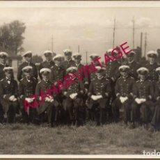 Militaria: WWI, FOTOGRAFIA ORIGINAL OFICIALES DE LA HALBFLOTILLE ALEMANA, 14X9 CMS. Lote 155099538