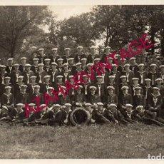 Militaria: WWI, FOTOGRAFIA ORIGINAL TRIPULACION DE UN TORPEDERO ALEMAN, 14X9 CMS. Lote 155099726