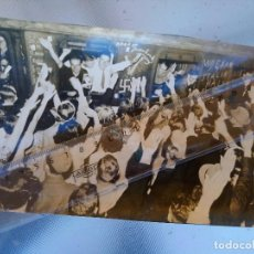 Militaria: FOTO DE ÉPOCA ORIGINAL VOLUNTARIOS HOLANDESES WAFFEN SS PARTEN A RUSIA COMPAÑEROS DIVISION AZUL. Lote 155381346
