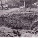 Militaria: FOTO PRENSA EFECTOS BOMBARDEO CALLES MADRID DICIEMBRE 1936 GUERRA CIVIL. Lote 155441414