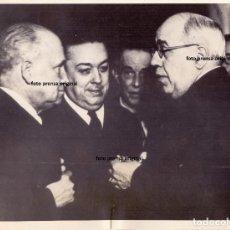 Militaria: PRESIDENTE AZAÑA, LARGO CABALLERO Y MARTINEZ BARRIOS EN VALENCIA 1937 GUERRA CIVIL. Lote 155443574