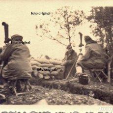 Militaria: TRINCHERAS ZONA GANDESA PRISMATICOS VISTA LEGION CONDOR 1938 GUERRA CIVIL. Lote 155482078